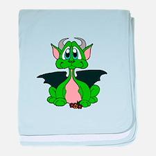 Cutie Dragon, baby blanket
