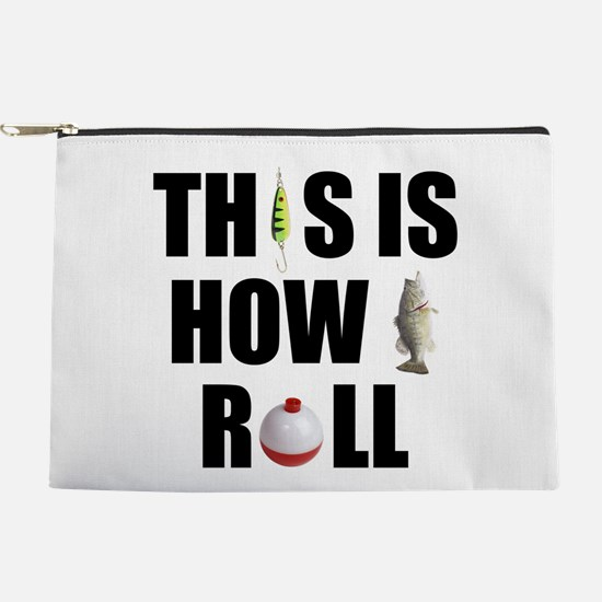 How I Roll Fishing Makeup Pouch