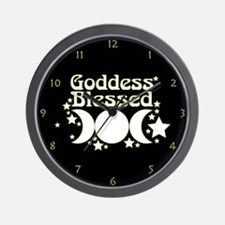 Goddess Blessed Wall Clock