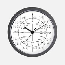 Cute Geek math Wall Clock