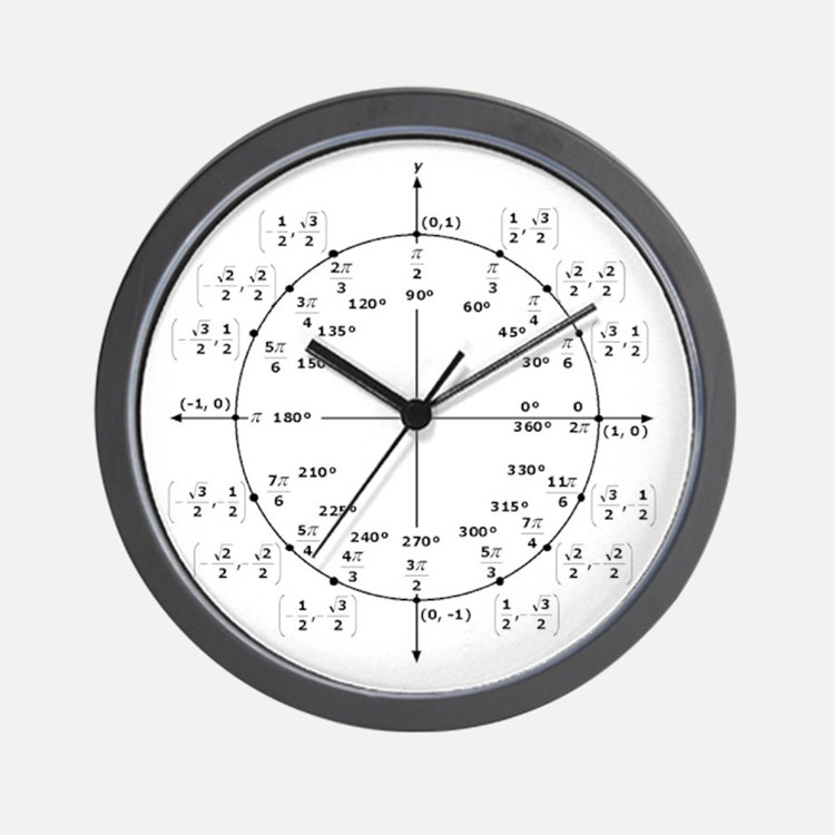 Cute Geek Wall Clock