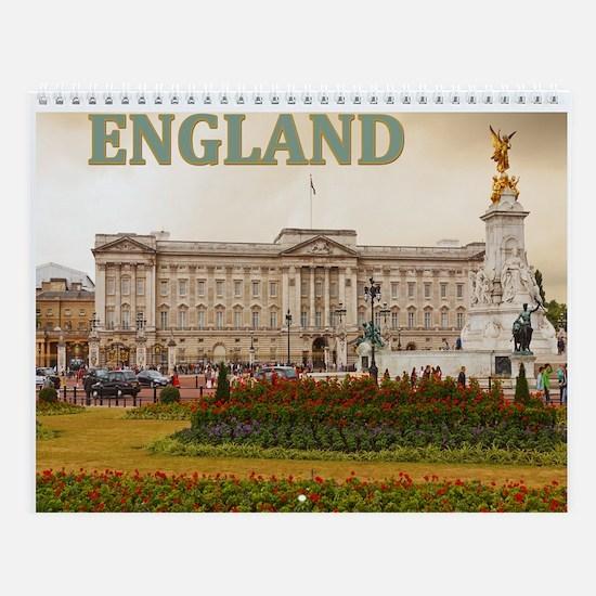 England Wall Calendar