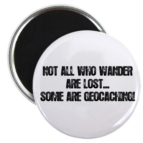 """Not all Who Wander... 2.25"""" Magnet (100 pack)"""