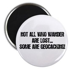 """Not all Who Wander... 2.25"""" Magnet (10 pack)"""