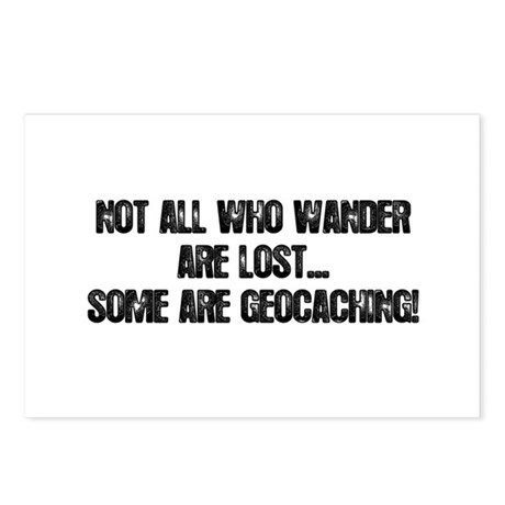 Not all Who Wander... Postcards (Package of 8)