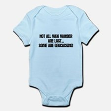 Not all Who Wander... Infant Bodysuit