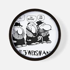 The 3 Weisman Wall Clock