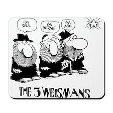 The 3 Weisman Mousepad