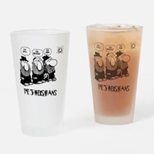 The 3 Weisman Drinking Glass