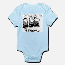 The 3 Weisman Infant Bodysuit