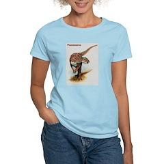 Pisanosaurus Dinosaur (Front) Women's Pink T-Shirt