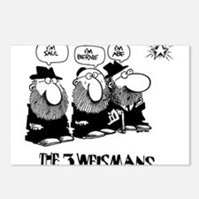 The 3 Weisman Postcards (Package of 8)