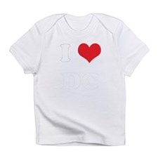 Unique I love dc Infant T-Shirt