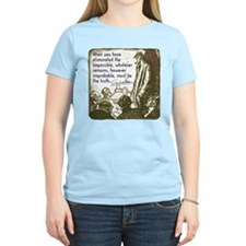Sherlock Holmes Truth T-Shirt T-Shirt