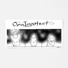 OmnImpotent.jpg Aluminum License Plate