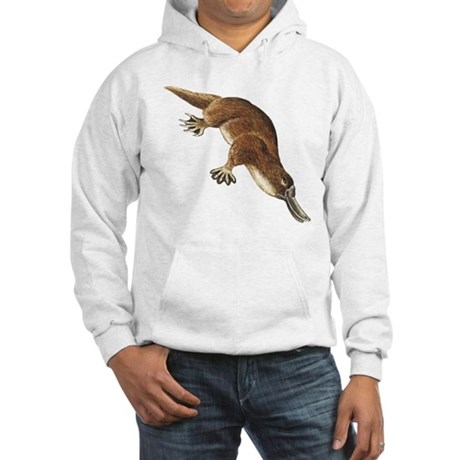Platypus (Front only) Hooded Sweatshirt