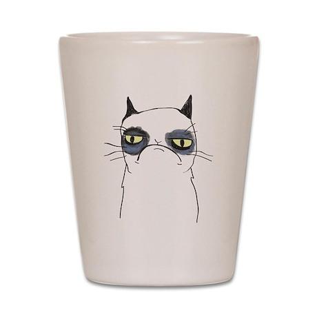Pissy Cat Shot Glass