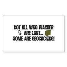 Not all who wander Decal