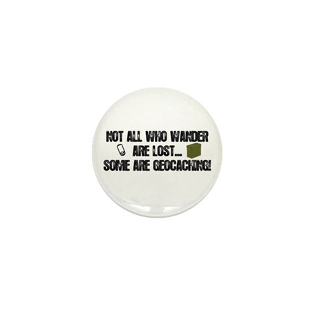 Not all who wander Mini Button (100 pack)