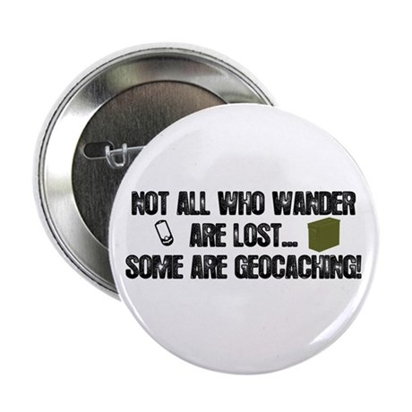 """Not all who wander 2.25"""" Button (100 pack)"""