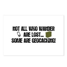 Not all who wander Postcards (Package of 8)