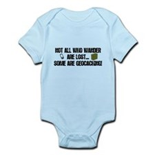 Not all who wander Infant Bodysuit