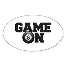 Game On Billiards Decal