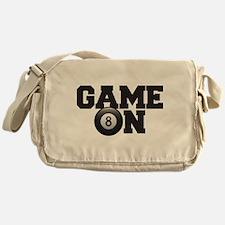 Game On Billiards Messenger Bag