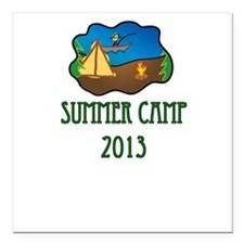 summer camp 2013 truck stop novelty tee Square Car