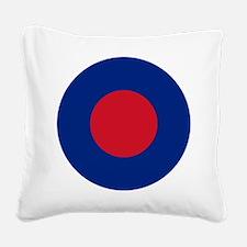 RAF low vis roundel Square Canvas Pillow