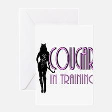 cougar.png Greeting Card