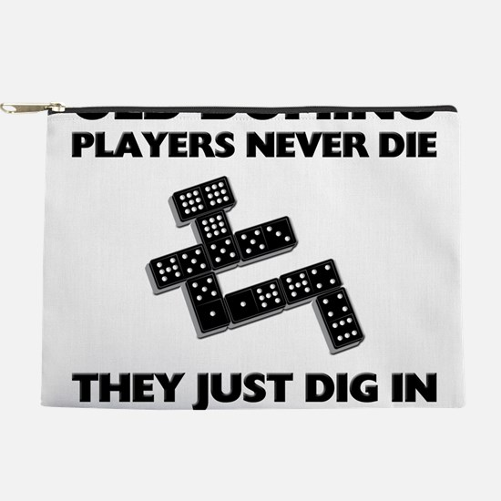 Domino Players Makeup Pouch