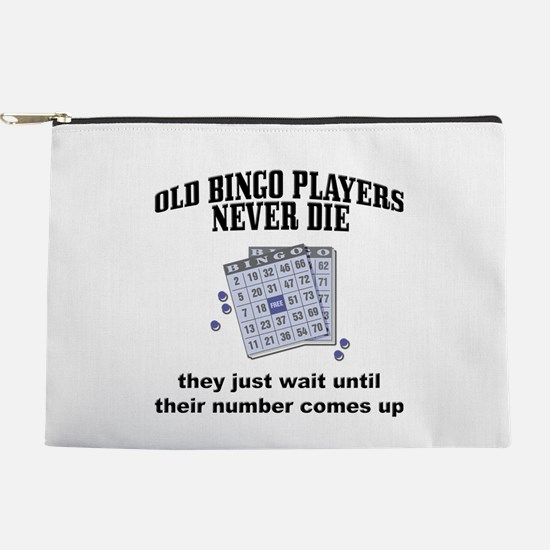 Old Bingo Players Makeup Pouch