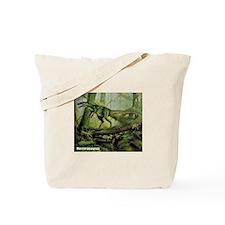 Herrerasaurus Dinosaur Tote Bag