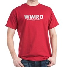 WWRD - What Would Reagan Do? Red T-Shirt