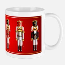 Nutty Nutcracker Toy Soldiers Small Small Mug