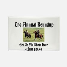 The Annual Roundup Rectangle Magnet