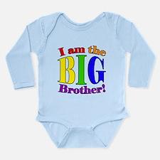 Big Brother Rainbow Long Sleeve Infant Bodysuit