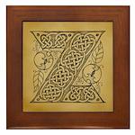 Celtic Letter Z Framed Tile