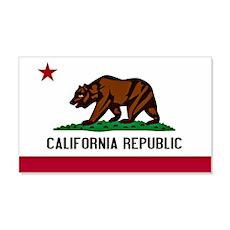 California Flag Wall Decal