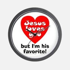 Jesus/His Favorite Wall Clock