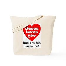 Jesus/His Favorite Tote Bag