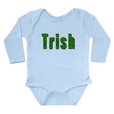 Trish Grass Long Sleeve Infant Bodysuit