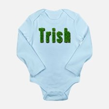 Trish Grass Long Sleeve Infant Bodysuit