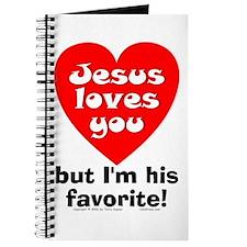 Jesus/His Favorite Journal