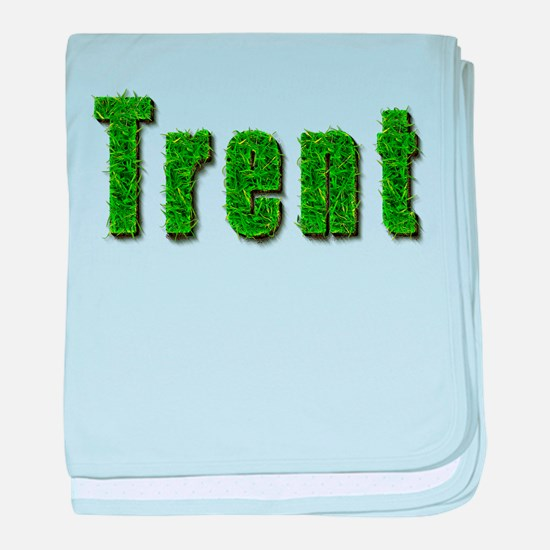 Trent Grass baby blanket