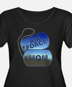 Air Force Mom - Mother Dog Tag T