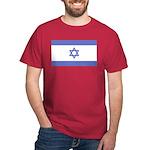 Israeli Flag Red T-Shirt