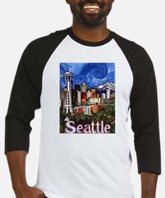Seattle Skyline Baseball Jersey