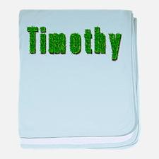 Timothy Grass baby blanket